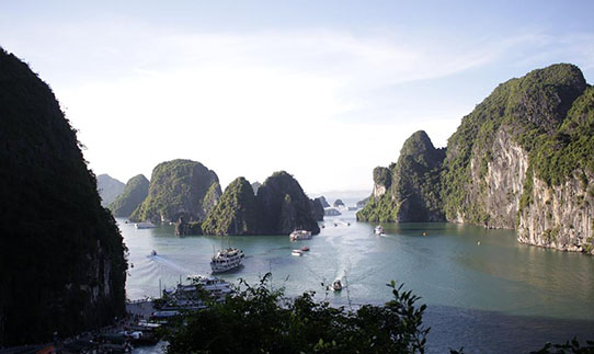 Halongbucht in Vietnam